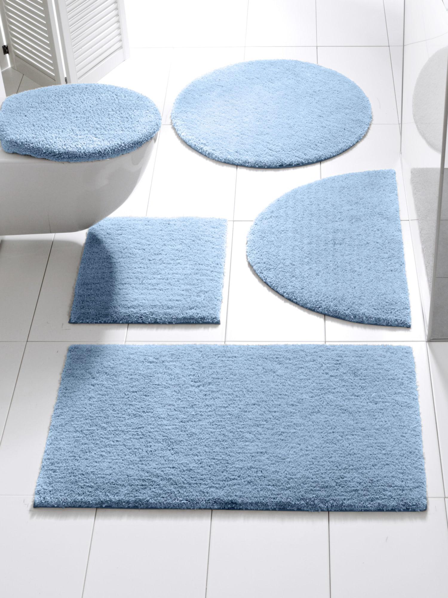 heine home Badgarnitur, kuschelweich | Bad > Badgarnituren > Badgarnituren-Sets | Blau | Microfaser | heine home