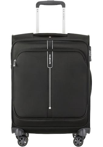 Samsonite Weichgepäck-Trolley »Popsoda, 55 cm, black«, 4 Rollen kaufen