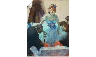 Artland Wandbild »Tänzerin in der Garderobe.« kaufen