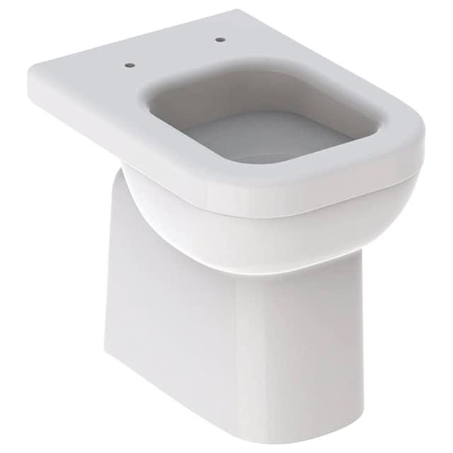 GEBERIT Stand-WC »Renova Comfort square«, erhöhte Sitzhöhe 46 cm