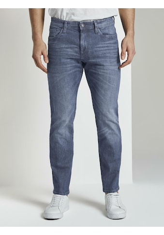 TOM TAILOR Straight - Jeans »Marvin Straight Jeans in heller Waschung« kaufen