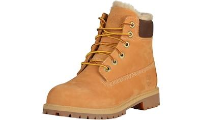 Timberland Schnürstiefelette »Leder« kaufen