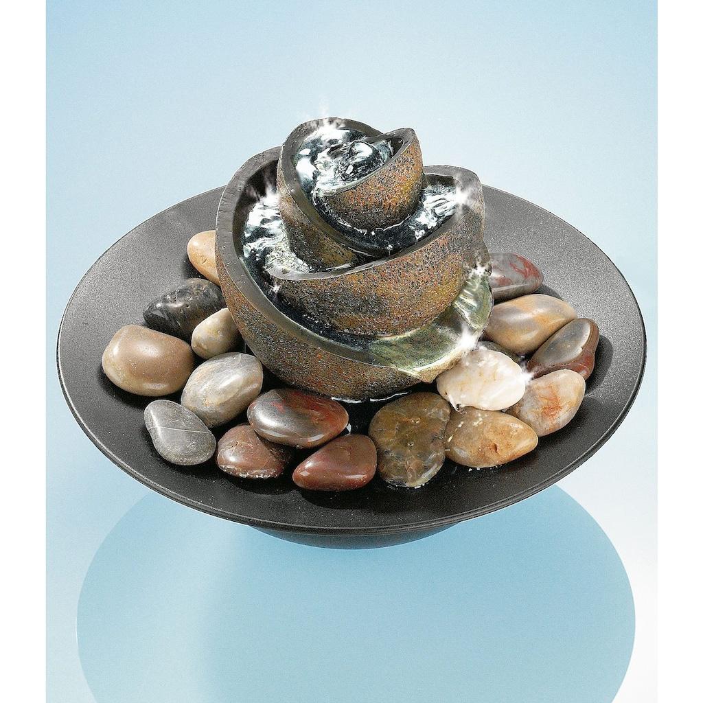 pajoma Zimmerbrunnen »Flower«, 12V, Pumpe lässt sich stufenlos verstellen