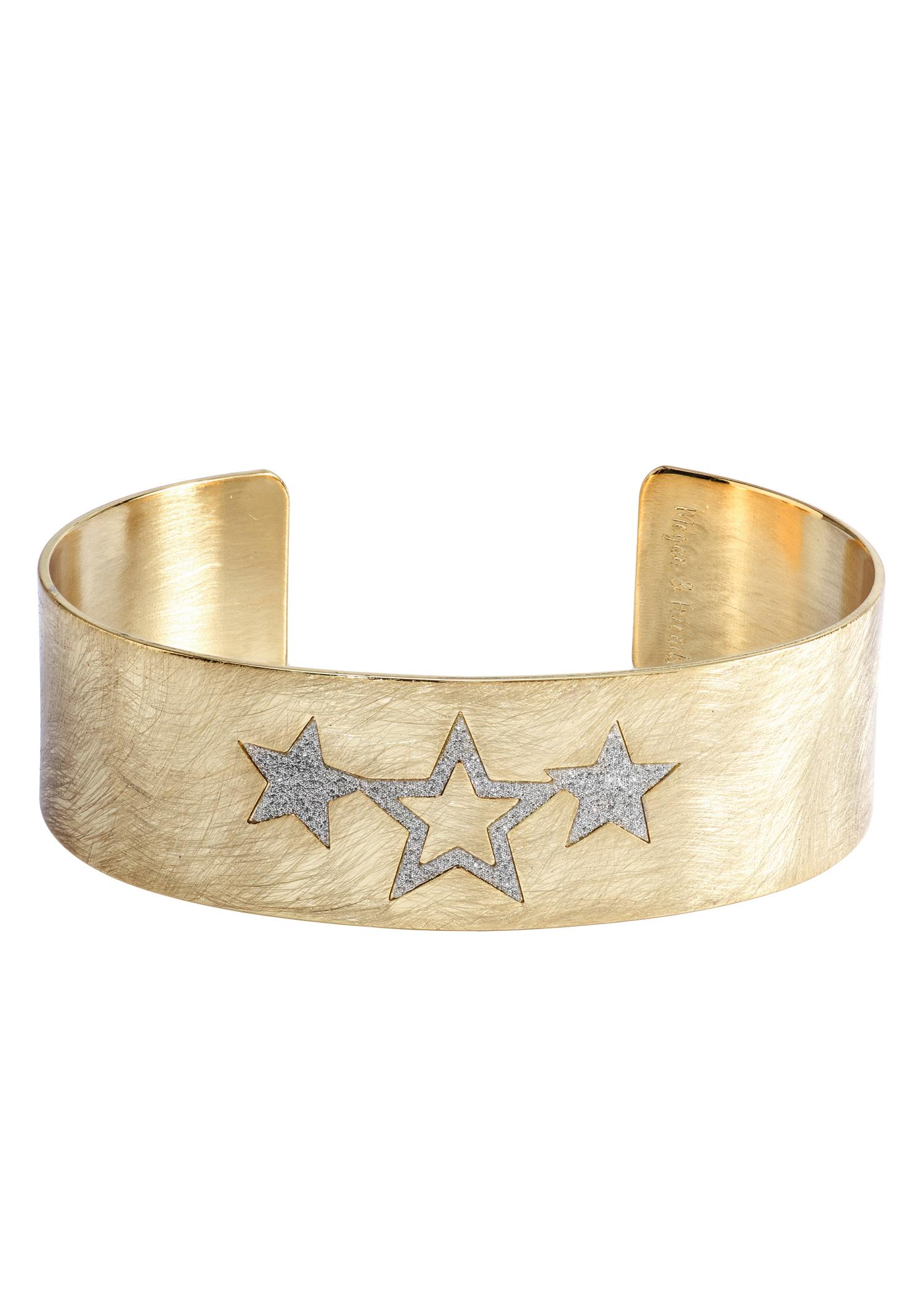 Megan & Friends Armspange »STARS, Sterne, MF20090-02«   Schmuck > Armbänder > Armspangen   Megan & Friends
