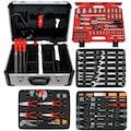 FAMEX Werkzeugset »720-24«, (Set, 128 St.), im Werkzeugkoffer