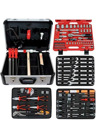 FAMEX Werkzeugset »720-24«, (Set, 128 St.), im Werkzeugkoffer kaufen