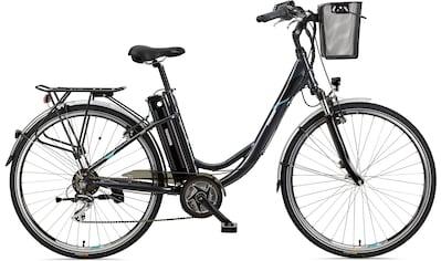 Telefunken E - Bike »Multitalent RC860«, 7 Gang Shimano Acera Schaltwerk, Kettenschaltung, Mittelmotor 250 W kaufen