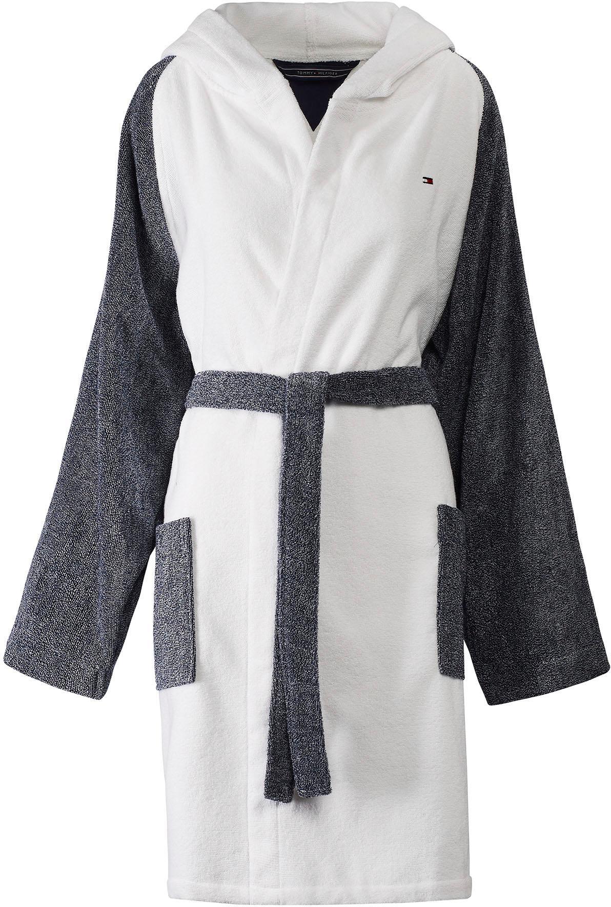 Damenbademantel »Sweater«, TOMMY HILFIGER | Bekleidung > Bademode > Bademäntel | Blau | Baumwolle | TOMMY HILFIGER