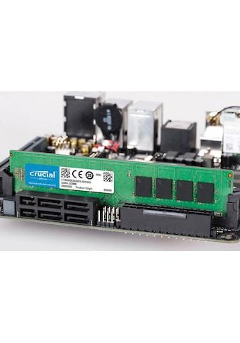 Crucial »DDR4 8GB PC 2400 retail single rank« PC - Arbeitsspeicher kaufen