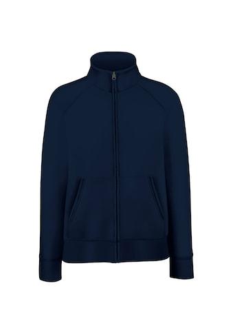 Fruit of the Loom Fleecejacke »Damen Lady - Fit Fleece - Sweatshirt - Jacke« kaufen