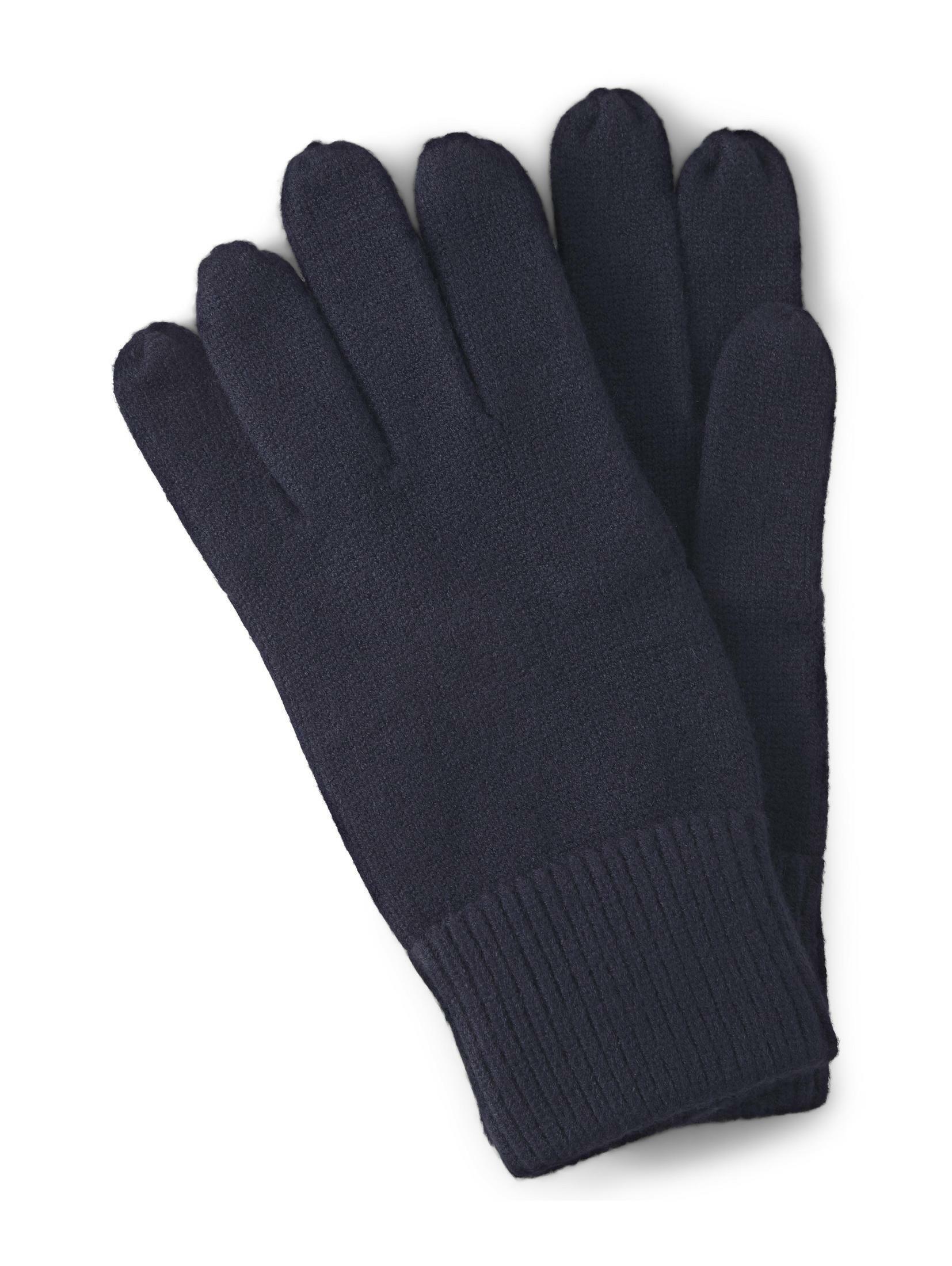 TOM TAILOR Baumwollhandschuhe Handschuhe mit Logo-Print | Accessoires > Handschuhe > Wollhandschuhe | Tom Tailor