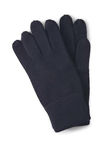 TOM TAILOR Baumwollhandschuhe »Handschuhe mit Logo - Print« kaufen