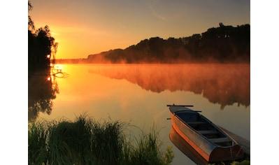 PAPERMOON Fototapete »Misty Lake«, Vlies, in verschiedenen Größen kaufen
