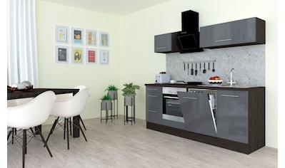 RESPEKTA Küchenzeile »RP220«, mit E-Geräten, Breite 220 cm kaufen