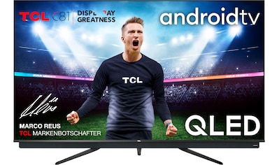 TCL 75C815 QLED - Fernseher (189 cm / (75 Zoll), 4K Ultra HD, Android TV kaufen