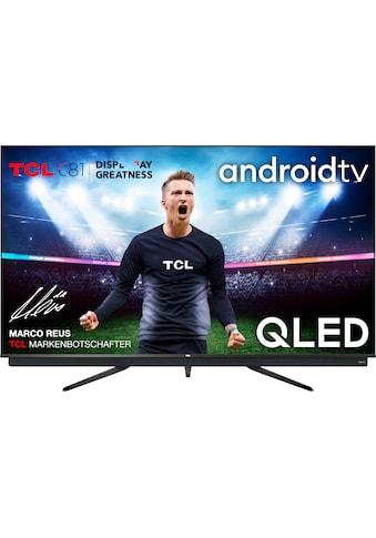 "TCL QLED-Fernseher »75C815«, 189 cm/75 "", 4K Ultra HD, Android TV, integrierter ONKYO Soundbar-Android TV Sprachfernbedienung kaufen"