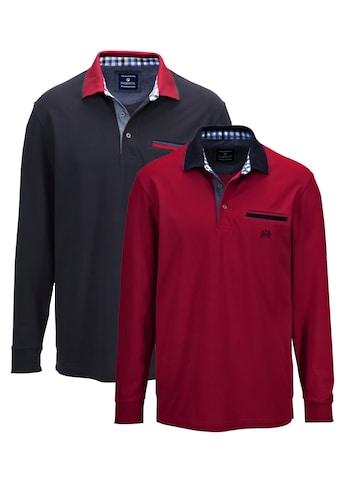 Babista Poloshirt, 2er Pack mit kontrastfarbenem Kragen kaufen