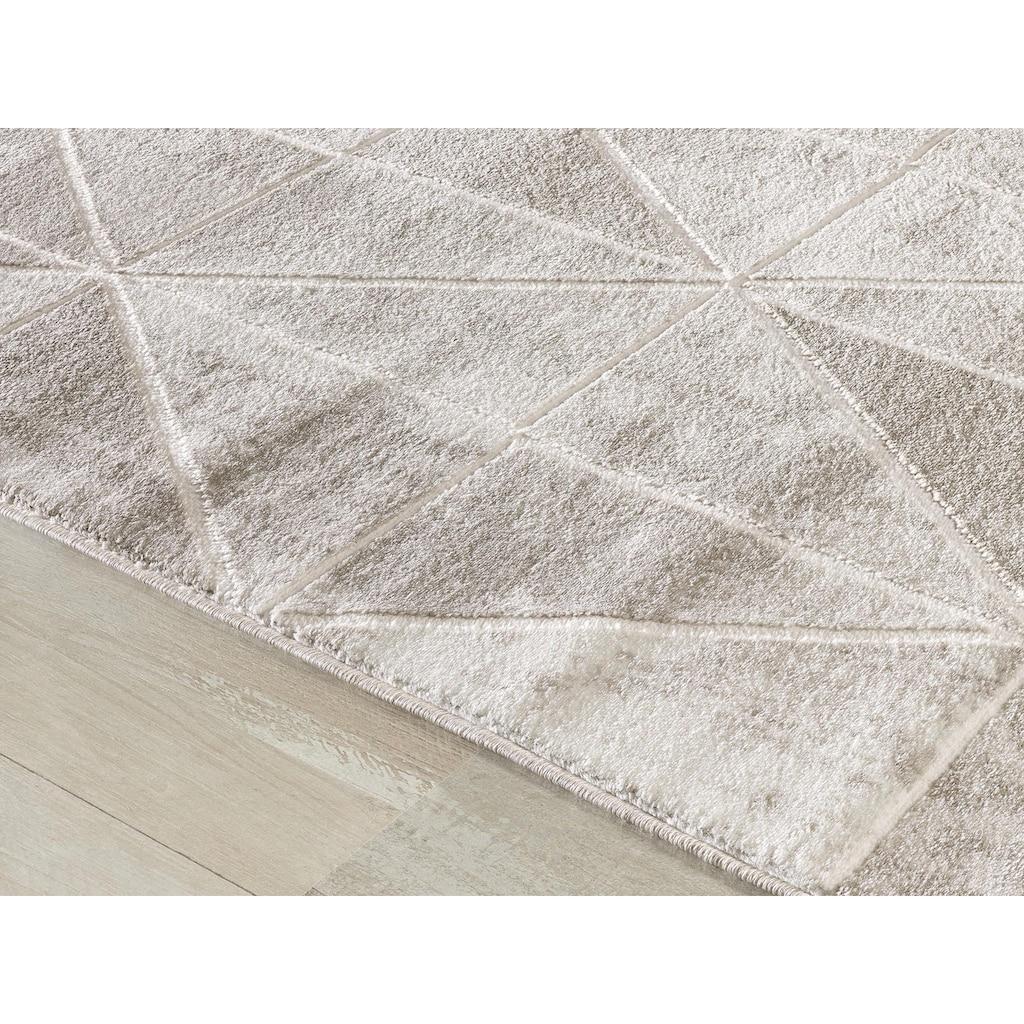 Sanat Teppich »Harmony 3212«, rechteckig, 12 mm Höhe, Vintage Design, Wohnzimmer
