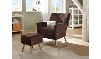 Home affaire Sessel »Michigan«, mit Hocker, mit und ohne Relaxfunktion kaufen