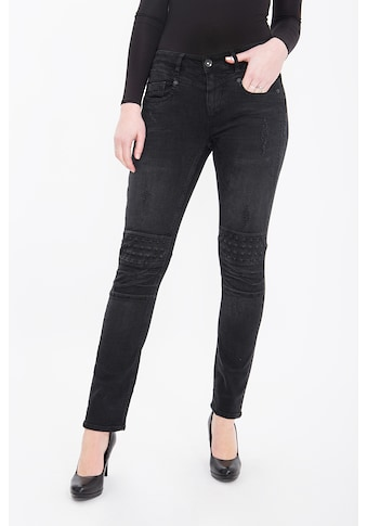 ATT Jeans Slim-fit-Jeans »Zoe«, mit Nieten und Destroy Details kaufen