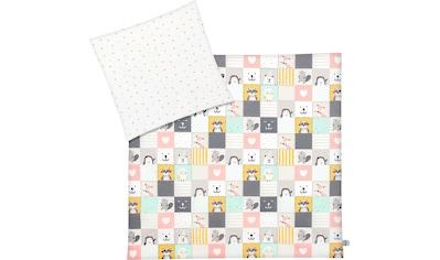 Julius Zöllner Kinderbettwäsche »Memory«, mit niedlichem Muster kaufen