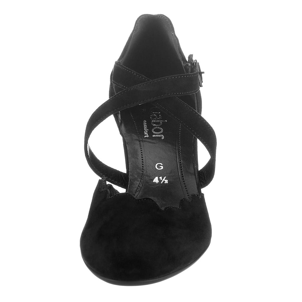 Gabor Spangenpumps »NIZZA«, mit verstellbarem Klettverschluss