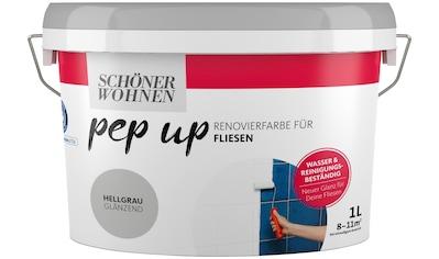 SCHÖNER WOHNEN-Kollektion Fliesenlack »pep up - hellgrau« kaufen