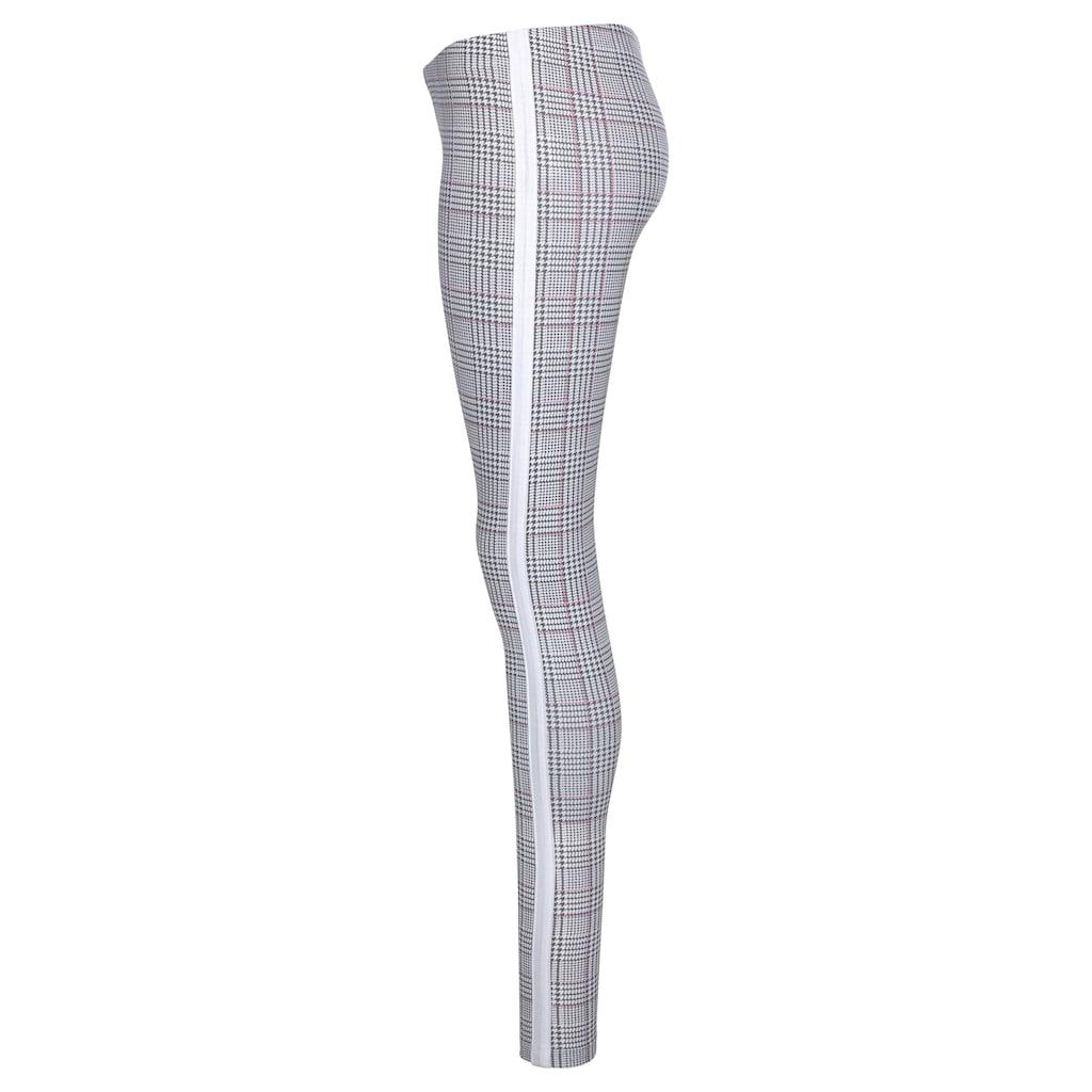 KangaROOS Leggings, mit modischem Glencheck-Allover-Print