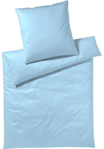 Elegante Bettwäsche »Solid«, angenehmes Hautgefühl kaufen
