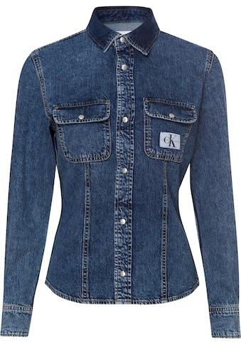 Calvin Klein Jeans Jeansbluse »ARCHIVE LEAN SHIRT«, im typischen Calvin Klein Jeans Marken-Design kaufen