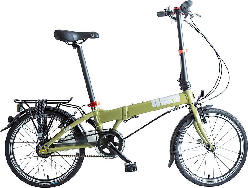 Dahon Faltrad Mariner i8, 8 Gang Nexus Nabe 8-Gang Schaltwerk, Nabenschaltung grün Falträder Klappräder Fahrräder Zubehör Fahrrad