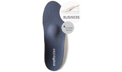 craftsoles orthopädische Schuheinlagen »Businessschuhe - ANTIBAKTERIELL«, Maßanfertigung kaufen