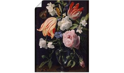 Artland Wandbild »Vase mit Blumen. 1637« kaufen
