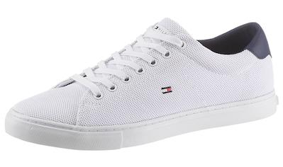 TOMMY HILFIGER Sneaker »ESSENTIAL KNIT VULC«, mit gestickter Logoflag kaufen