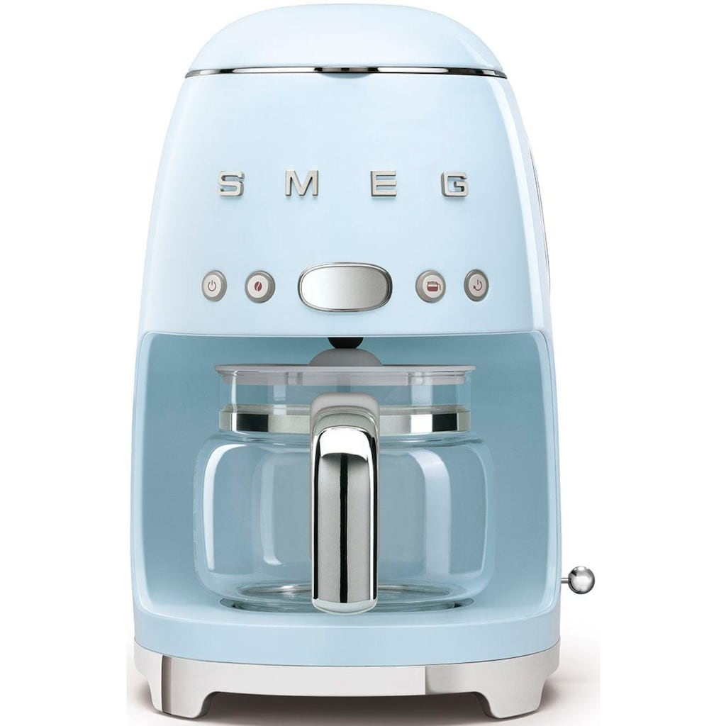 Smeg Filterkaffeemaschine »DCF02PBEU«, Papierfilter, 1x4, inkl. Permanentfilter