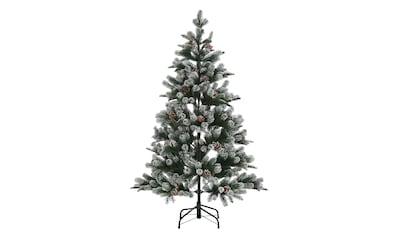 Künstlicher Weihnachtsbaum »Snow on Green«, mit leicht beschneiten Ästen und Tannenzapfen kaufen