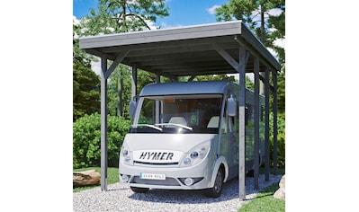 Skanholz Einzelcarport »Caravan-Friesland«, Fichtenholz, 355 cm, dunkelgrau kaufen