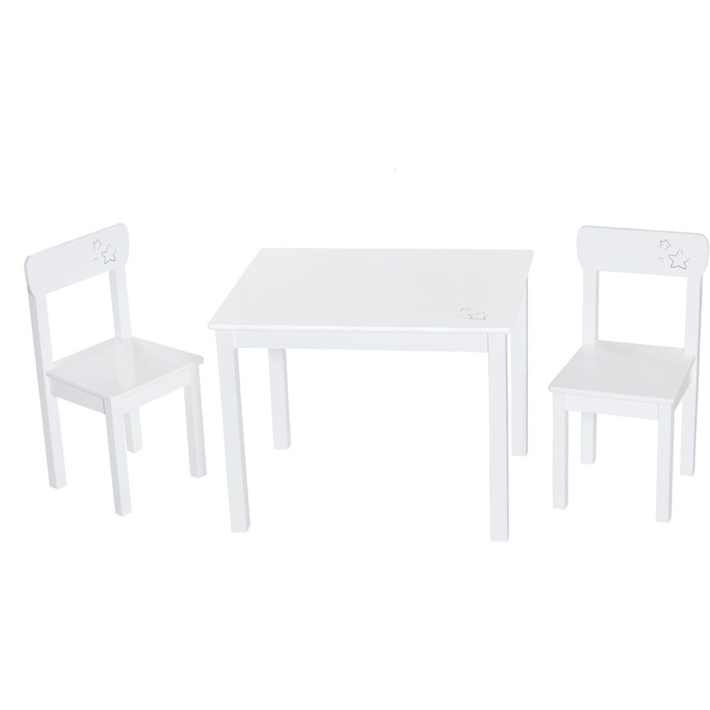 roba® Kindersitzgruppe »Weiß«, (3 St.)