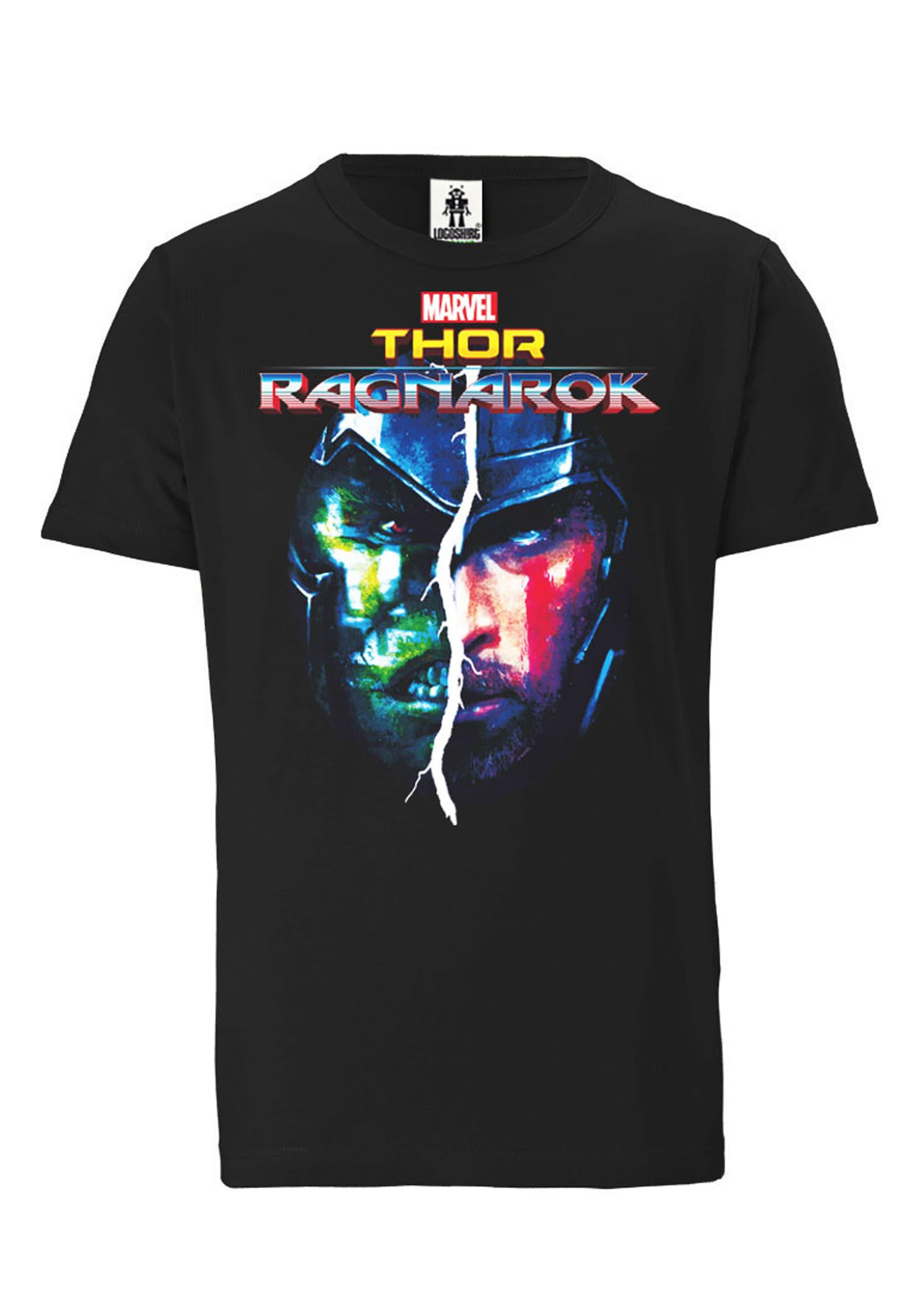 logoshirt -  T-Shirt mit coolem Thor-Frontprint