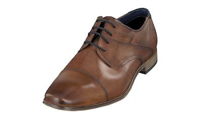 bugatti Schnürschuh »Morino«, mit Ziernaht kaufen