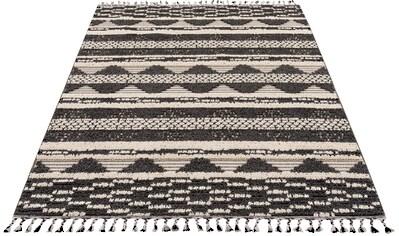 Teppich, »David«, andas, rechteckig, Höhe 18 mm, maschinell gewebt kaufen