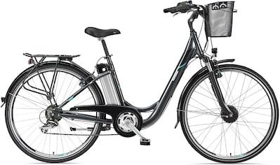 Telefunken E - Bike »Multitalent RC820«, 7 Gang Shimano TY 500 Schaltwerk, Frontmotor 250 W kaufen