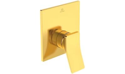 IDEAL STANDARD Brausethermostat »Check«, Unterputz Bausatz 4, Brushed Gold kaufen