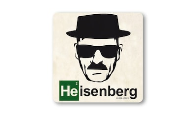 LOGOSHIRT Untersetzer mit Heisenberg-Druck kaufen