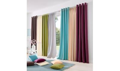 Gut Vorhang, »Raja«, My Home, Ösen 2 Stück Kaufen