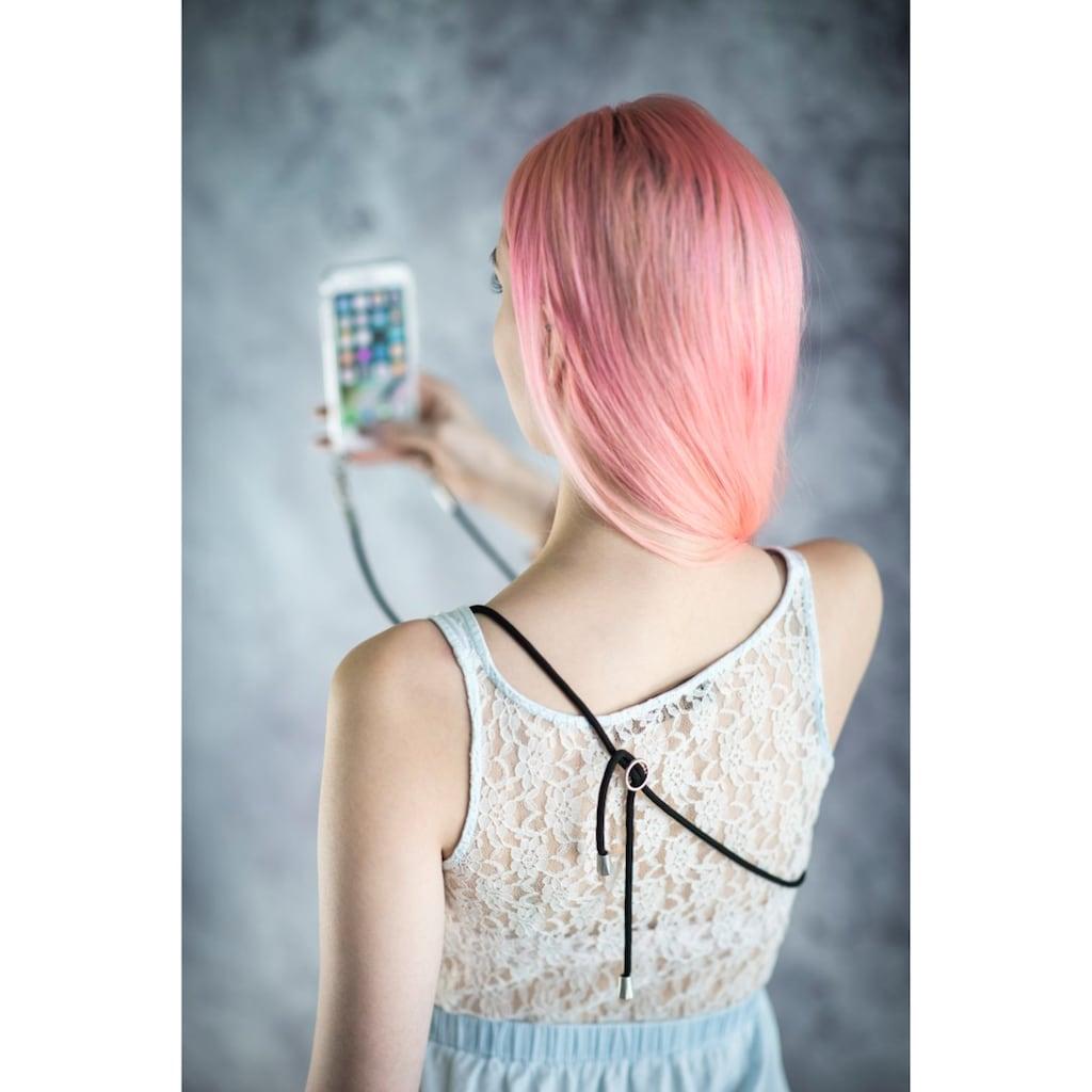 Hama Handytasche »Hülle Transparent«, mit Umhängekordel für Samsung Galaxy A51
