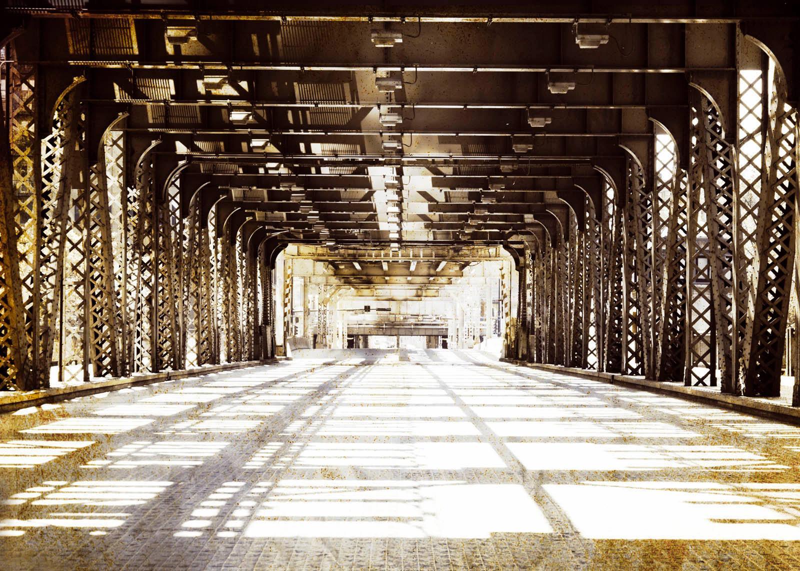 Giclee Fine Art »Stadtbrücke« 140/100 cm