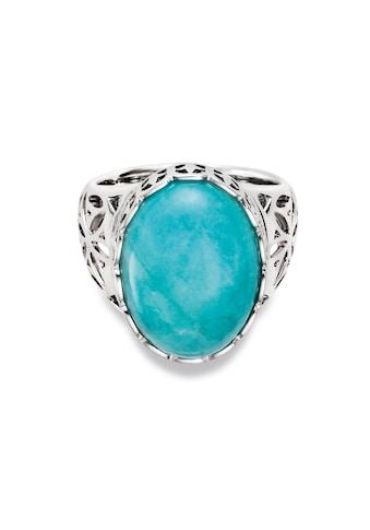CAÏ Silberring »925/ -  Sterling Silber rhodiniert Amazonit« kaufen