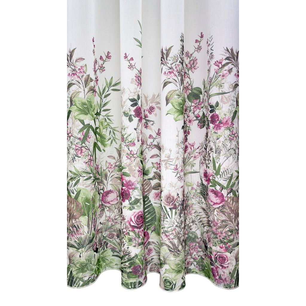 VHG Vorhang nach Maß »Rosebud«, Deko Wunschmaß,Verlauf,Digitaldruck