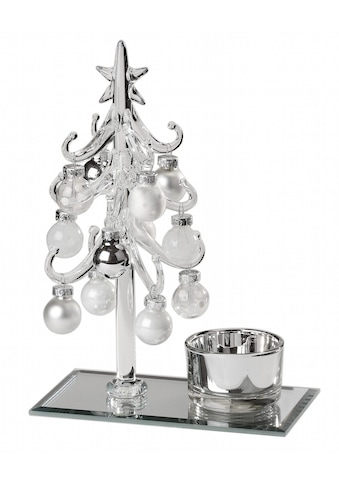 Inge's Christmas Decor Mini - Glas - Deko - Baum »Magic« (13 - teilig) kaufen